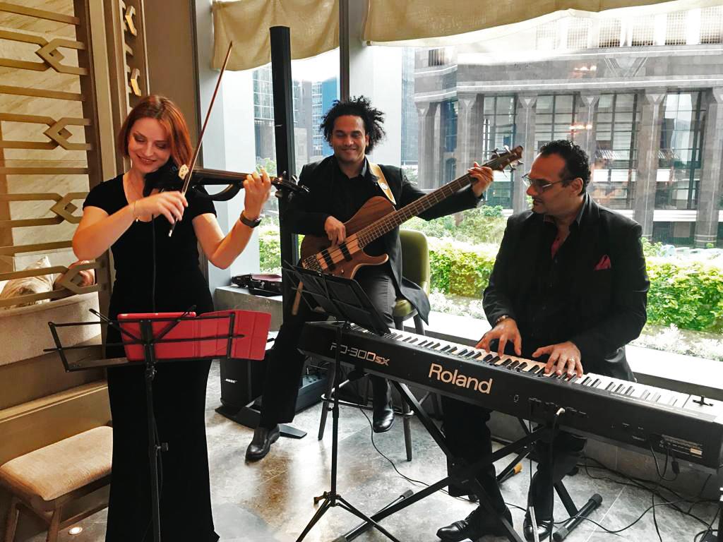 Jazz Trio @ Saint Regis Hong Kong