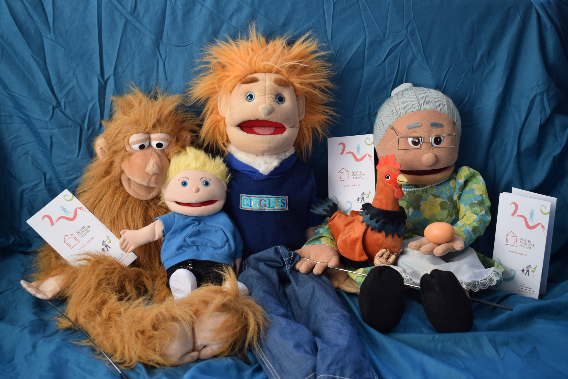 Puppets working with NI Museums