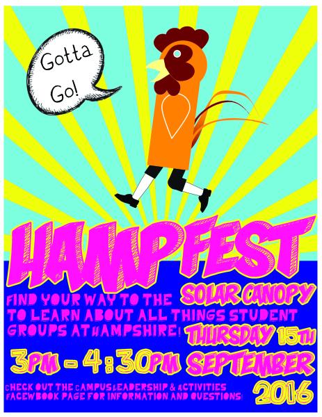 Hampfest Event Poster