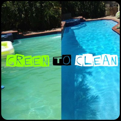 GREEN to CLEAN!!!!