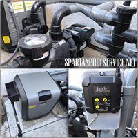 Jandy JXI Heater & PlusHP Pump install