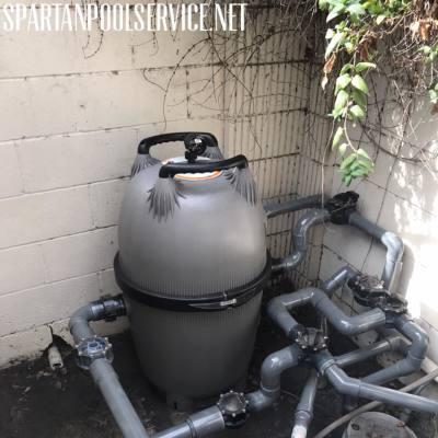 Jandy CV 460 filter install