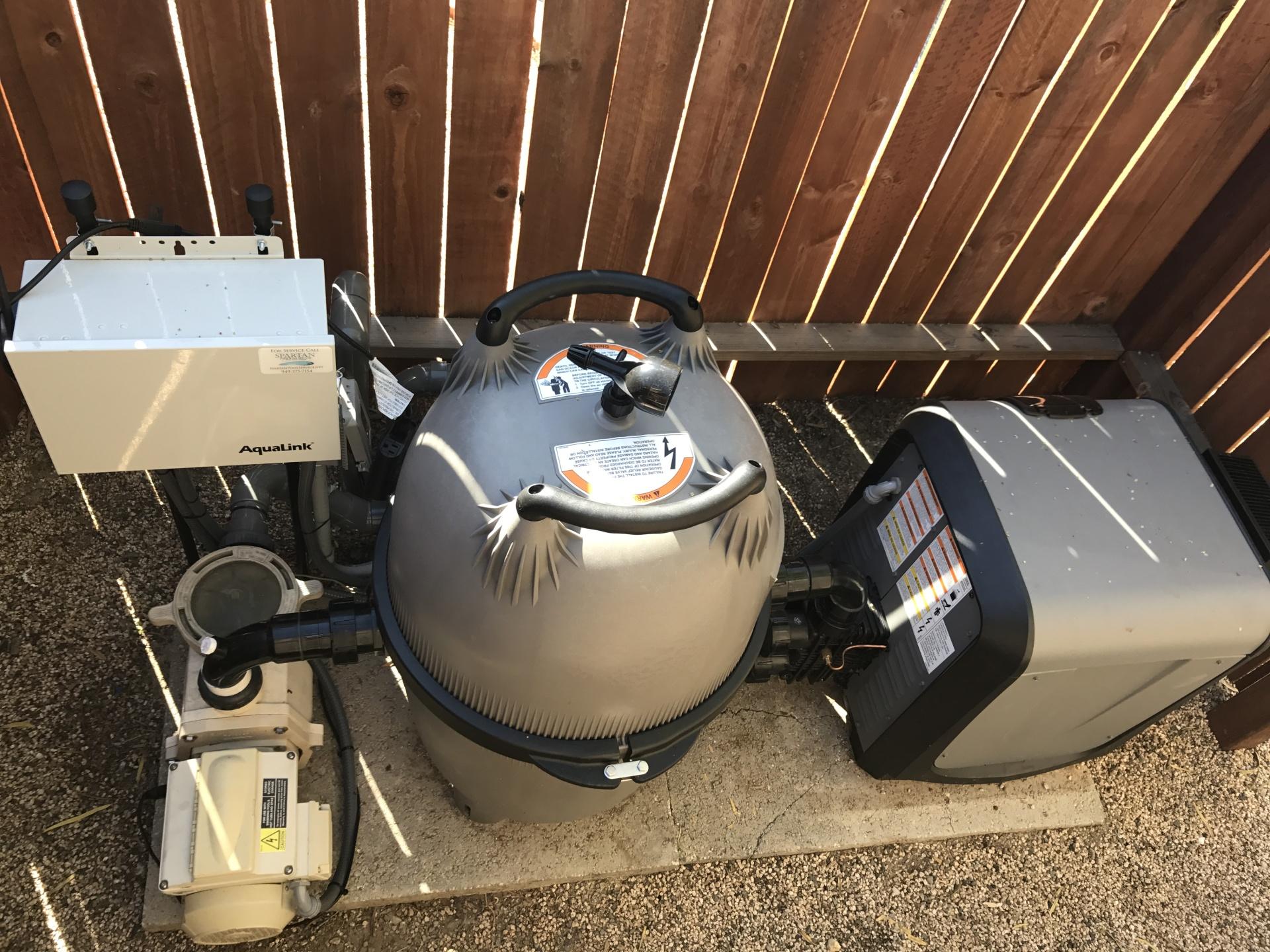 Jandy VersaPlumb Equipment set