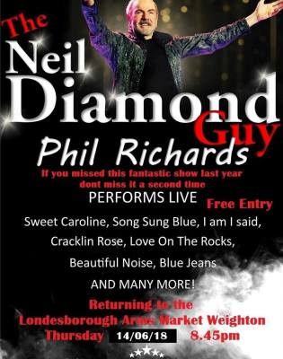 A night with Diamond