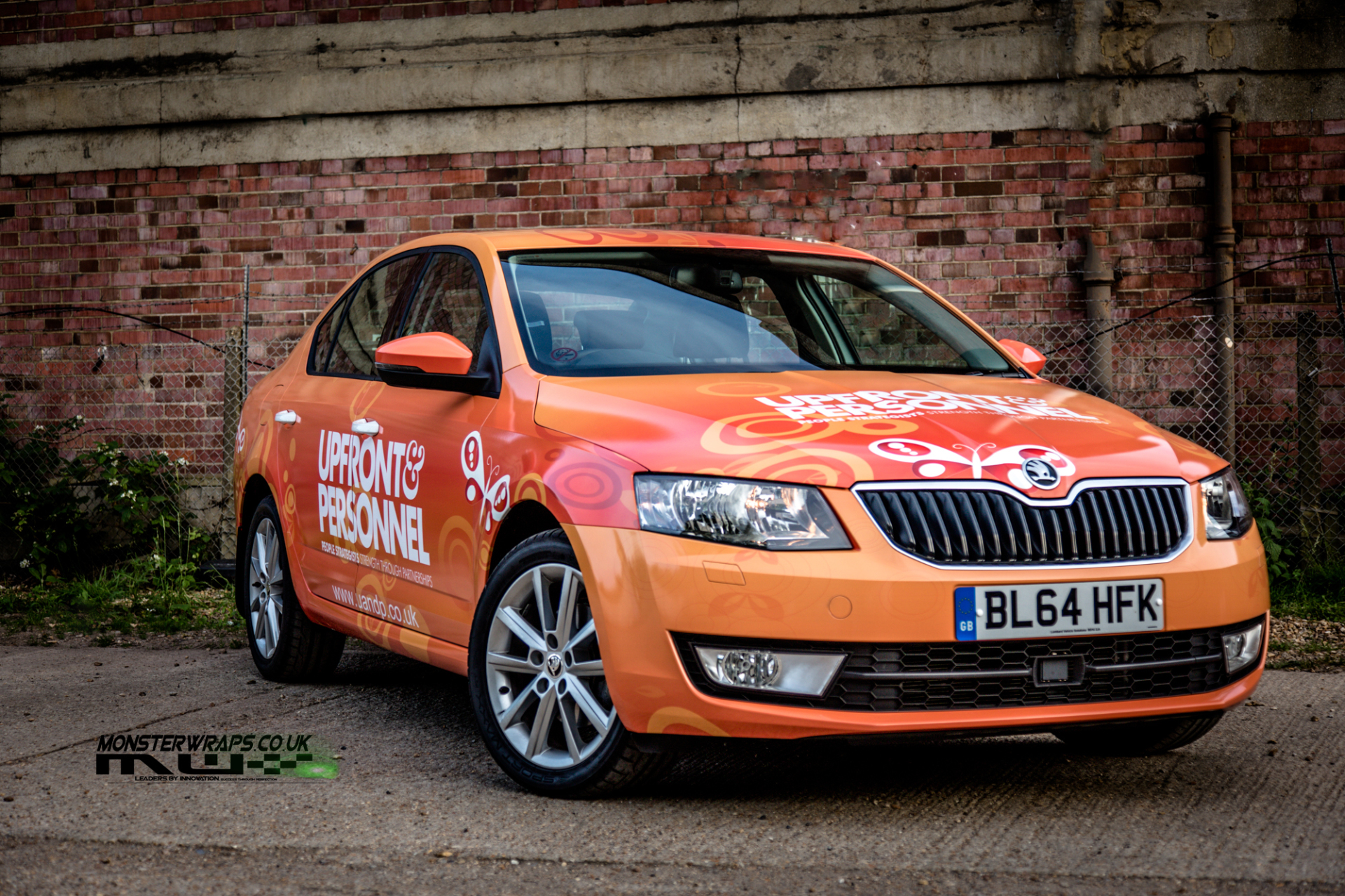 Skoda Octavia upfront & Personnel commercial wrap