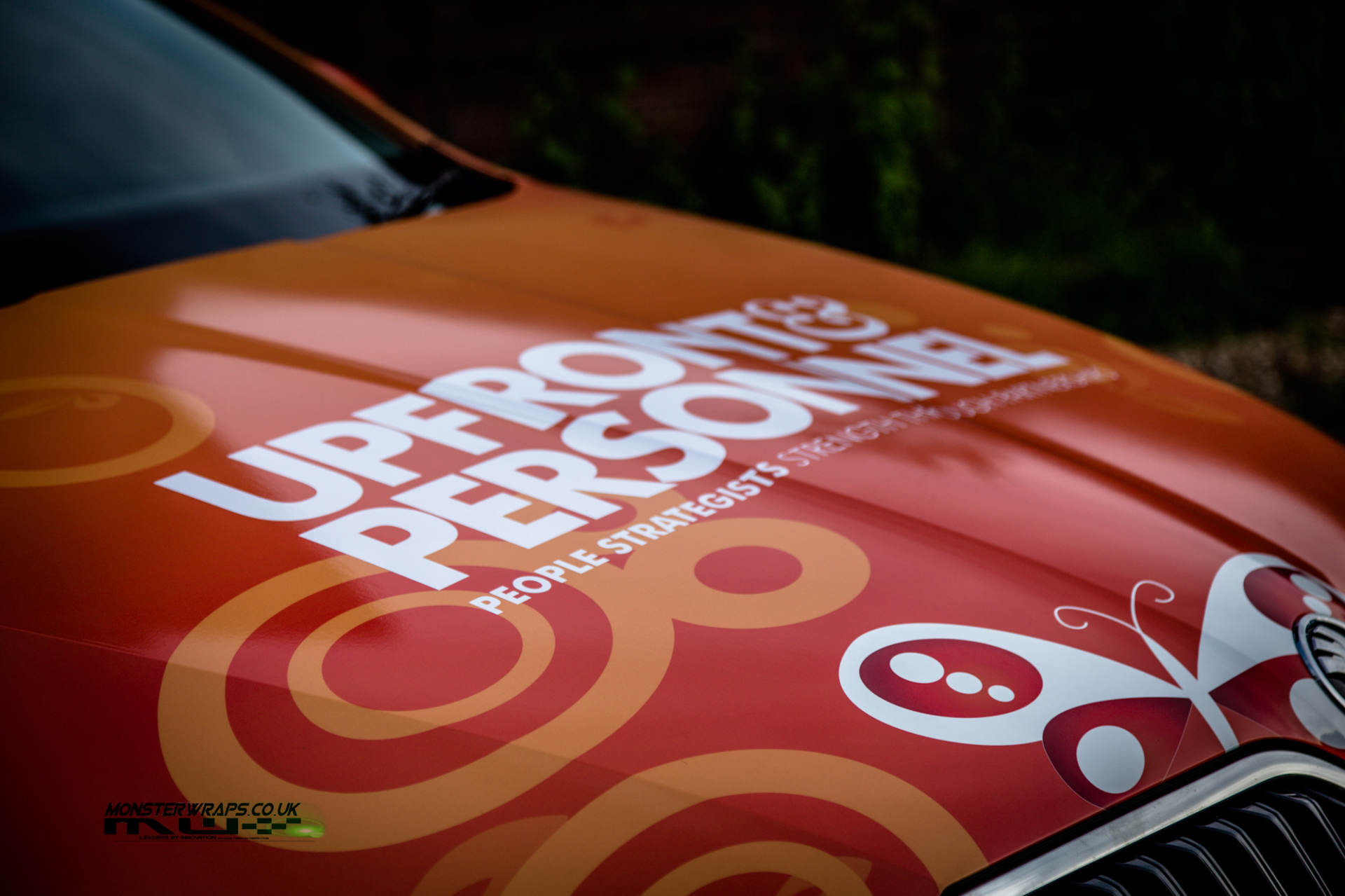 Commercial branding livery printed wrap design southampton 3M car wrap