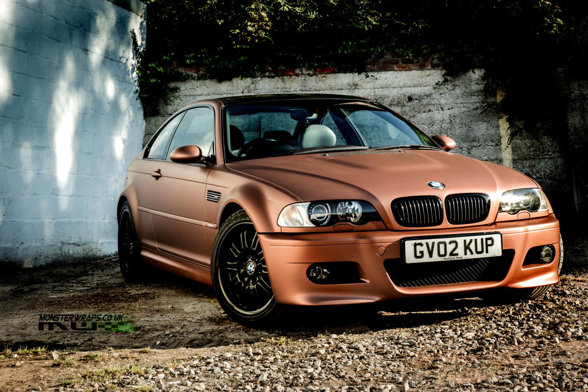 3M Matte brown metallic car wrap colour