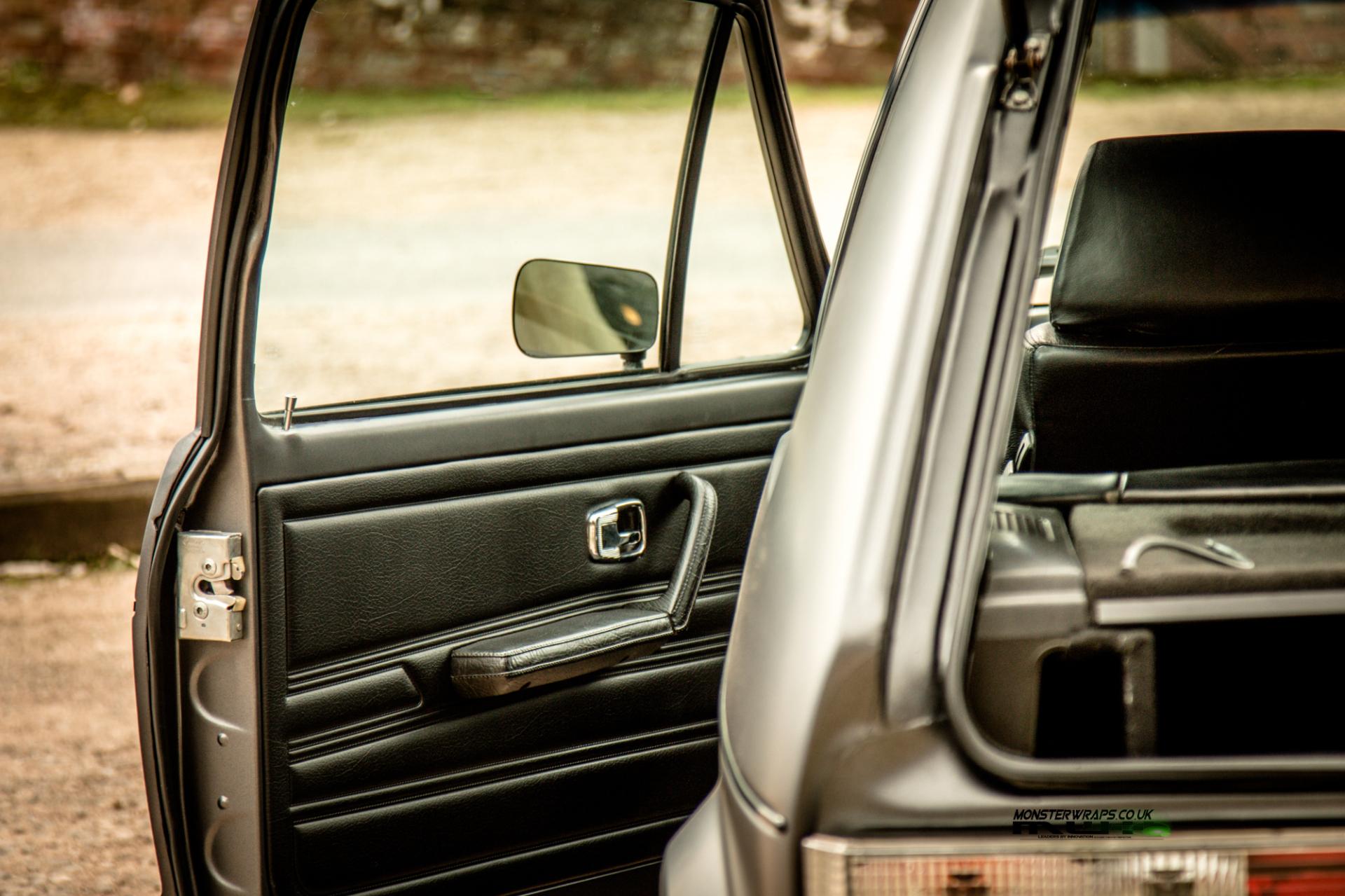 VW Golf mk1 matte dark grey full wrap 3M 1080 monsterwraps