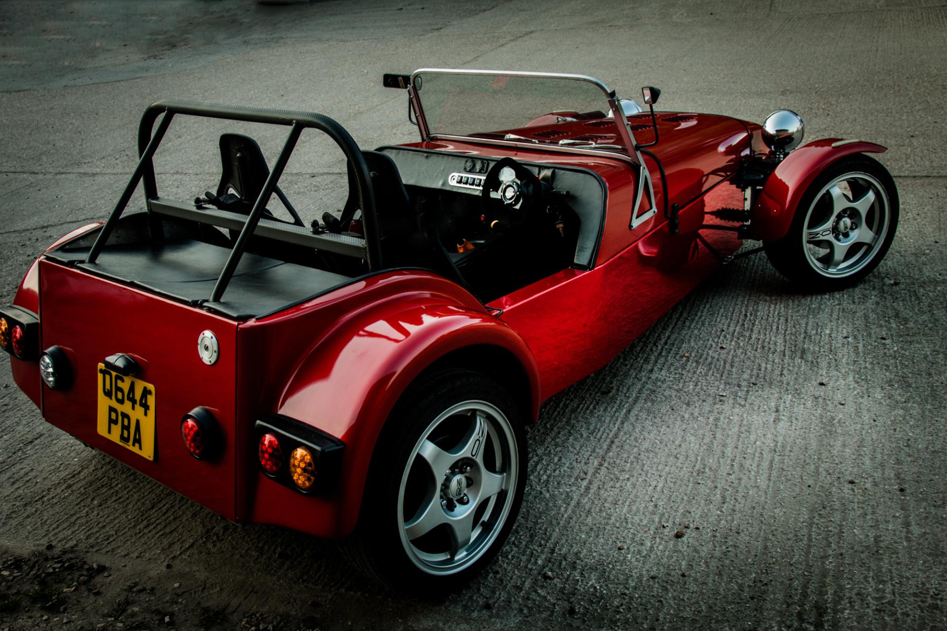 Westfield Kit Car wrap