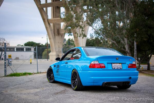 Avery Light blue car wrap