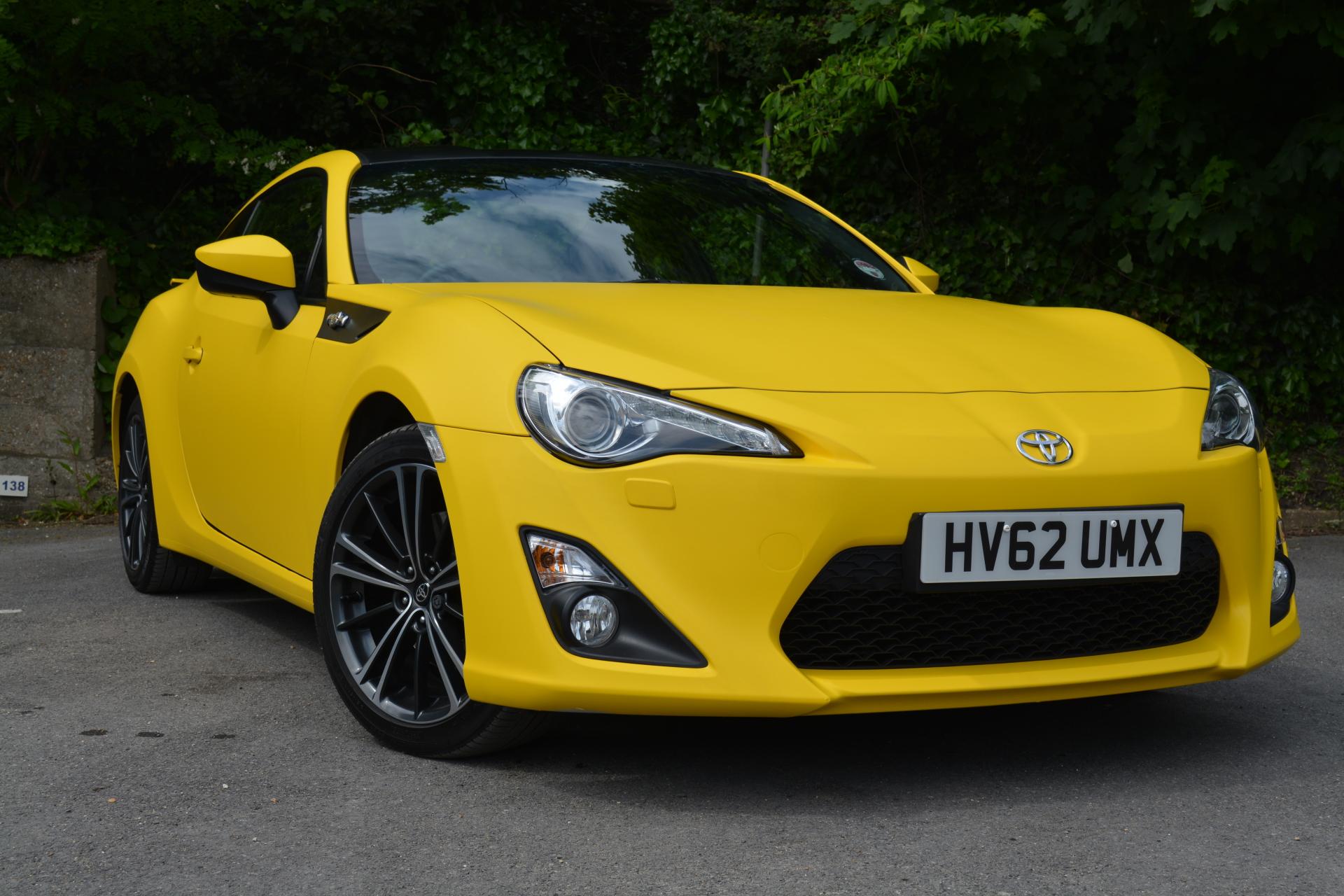 3M Matte yellow car wrap colour