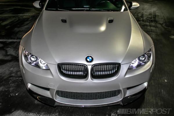 3M Satin white aluminium car wrap