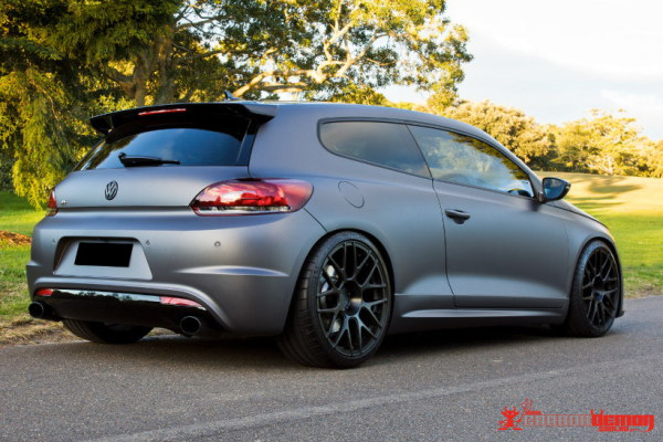 3M Matte dark grey car wrap colour