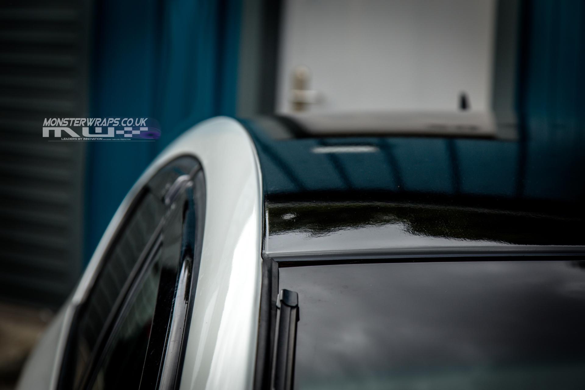 Seat Leon FR BTCC Gloss black roof wrap