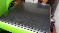 Semi Gloss Carbon Fibre Wrap