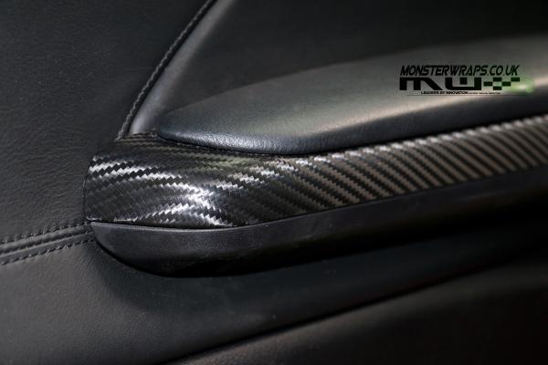 BMW M3 e46 Carbon fibre interior trim wrap