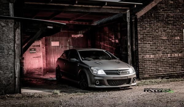 Vauxhall Astra VXR Matte dark grey wrap