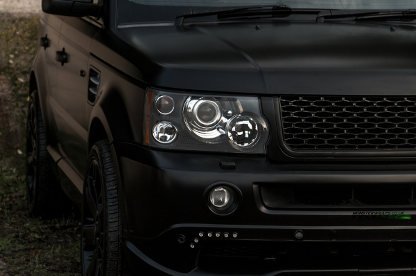 Range Rover Sport Overfinch satin black wrap