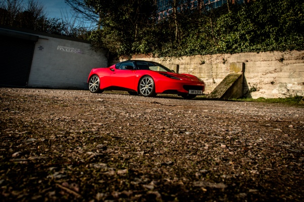Lotus Evora GT style gloss black wrap