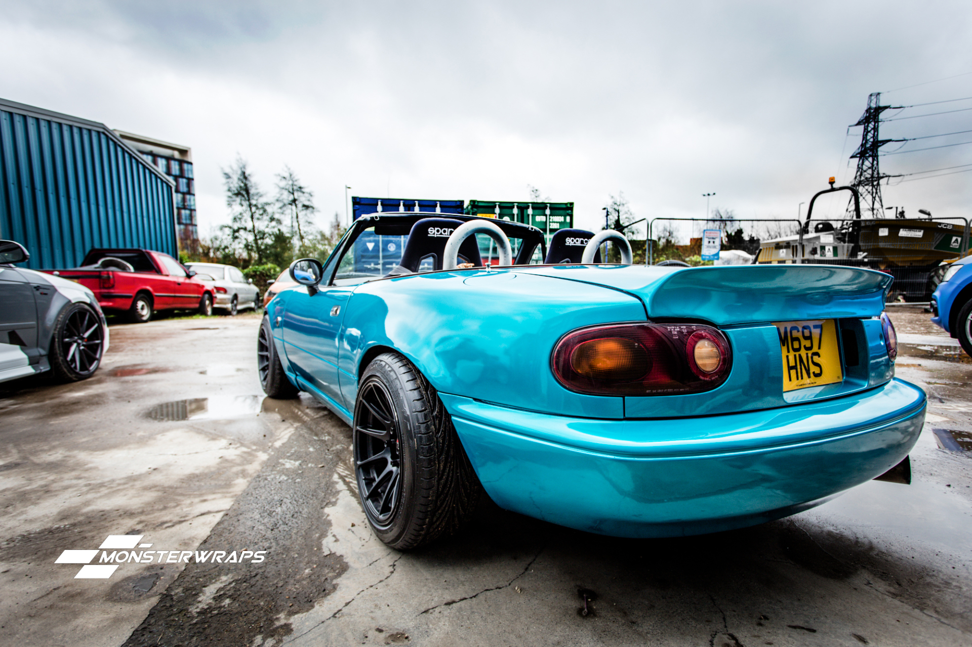Mazda MX5 Gloss atomic teal full wrap