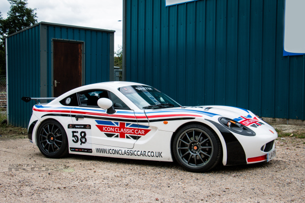 Ginetta G40 graphics and clear protection wrap