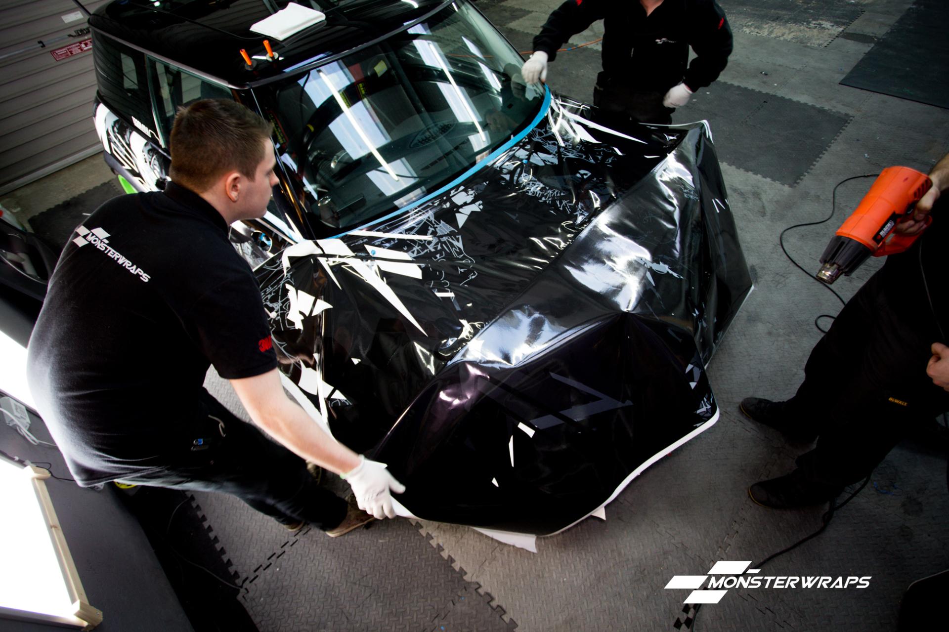 BMW Mini Cooper S full wrap