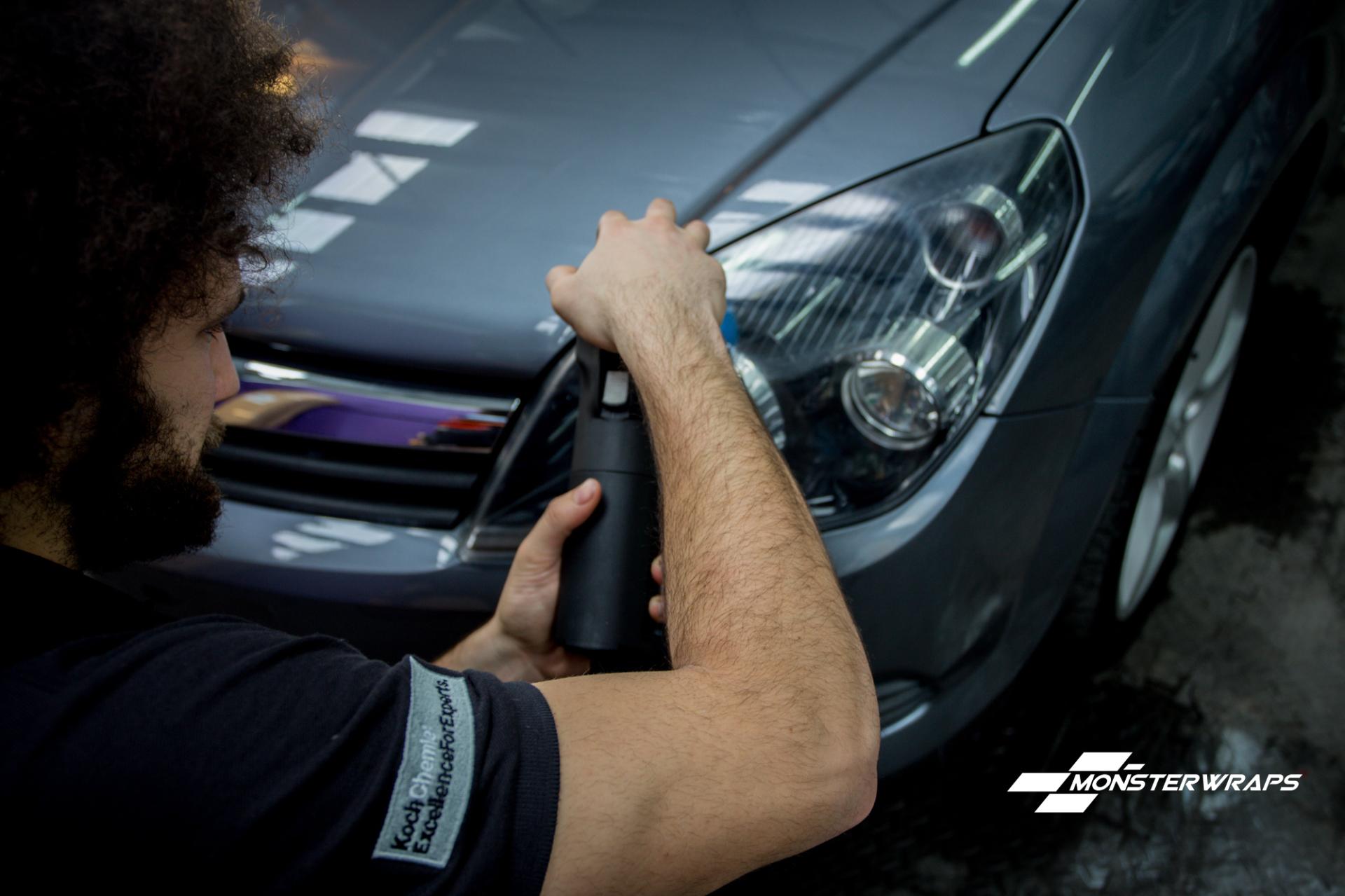 Vauxhall Astra Stage 2 machine polish and detail