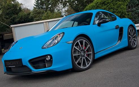 3M Matte Riviera Blue wrap
