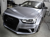 3M Brushed Steel wrap