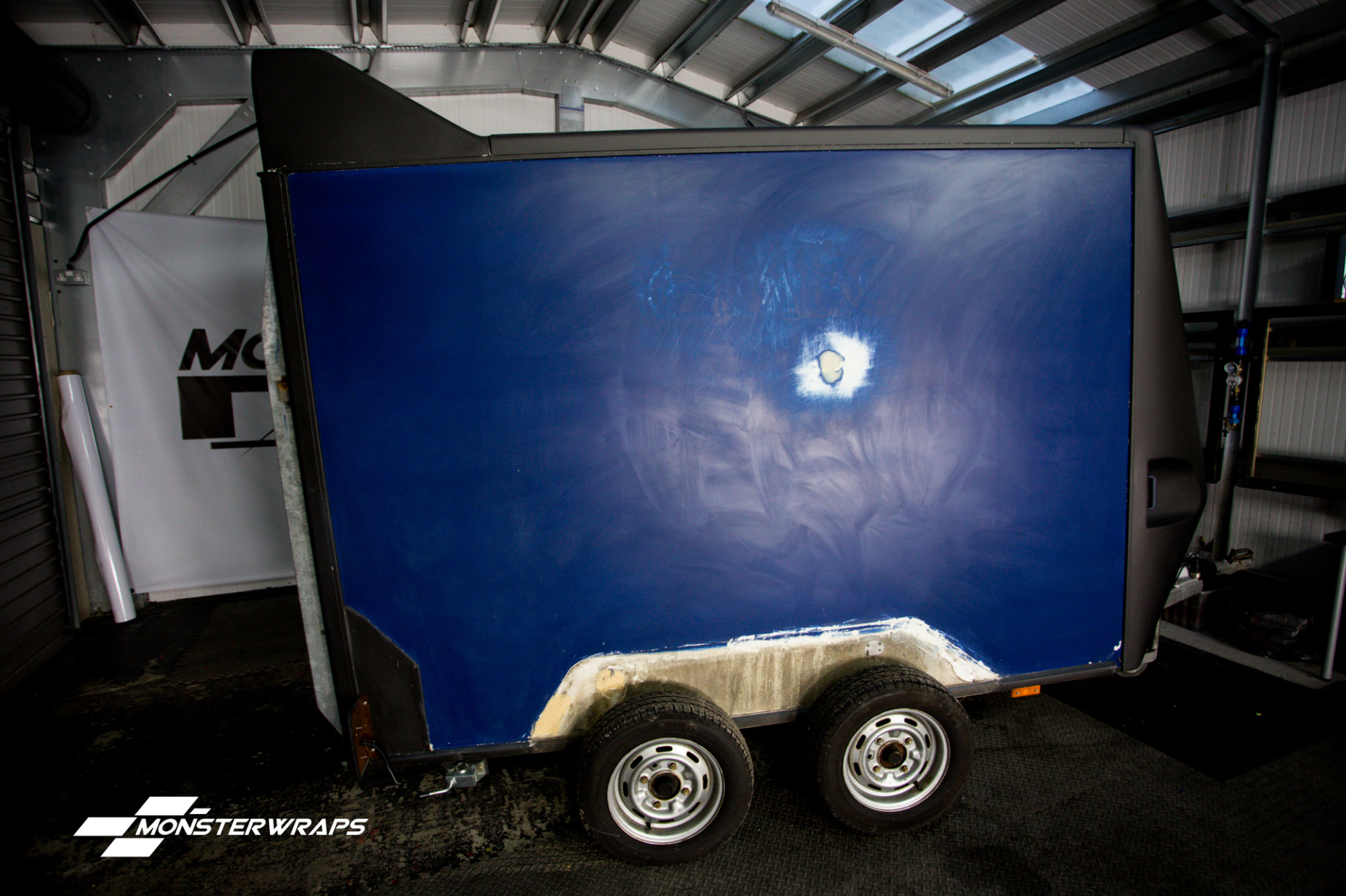 Box Trailer wrap