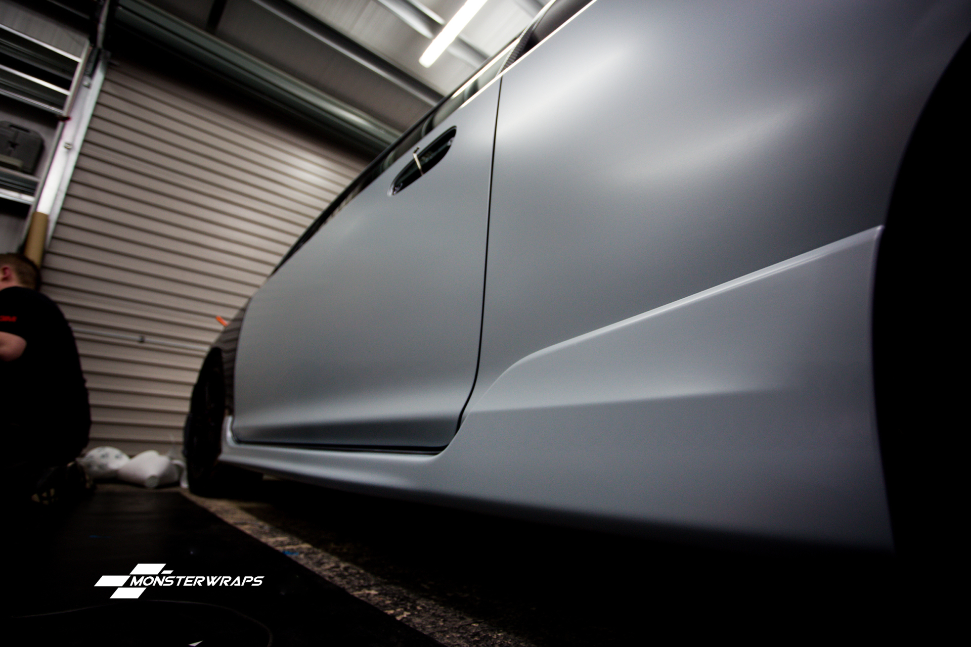 Honda Civic EP3 Type R 3M Battleship grey wrap