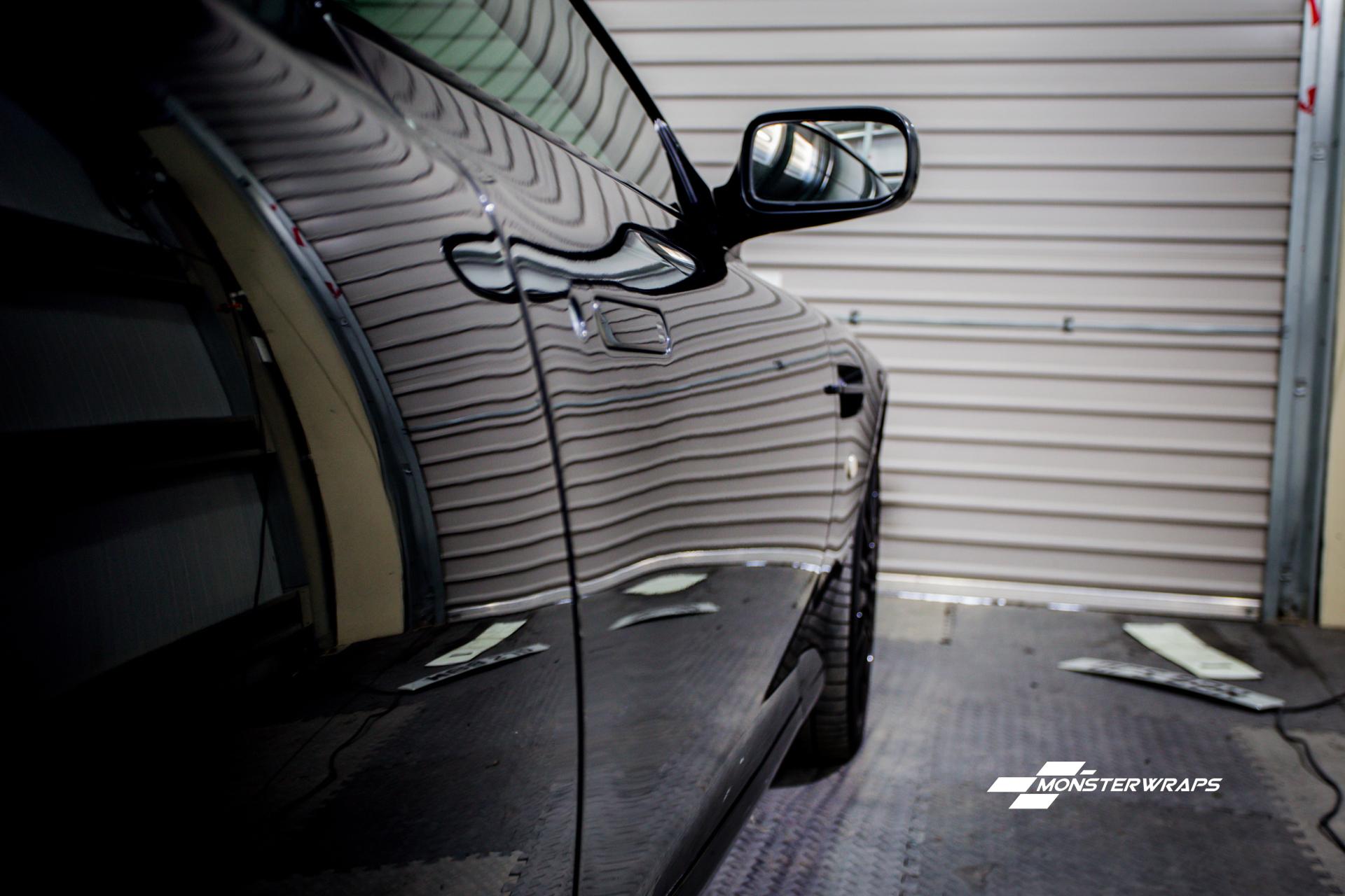 Aston Martin DB9 Paint correction detail