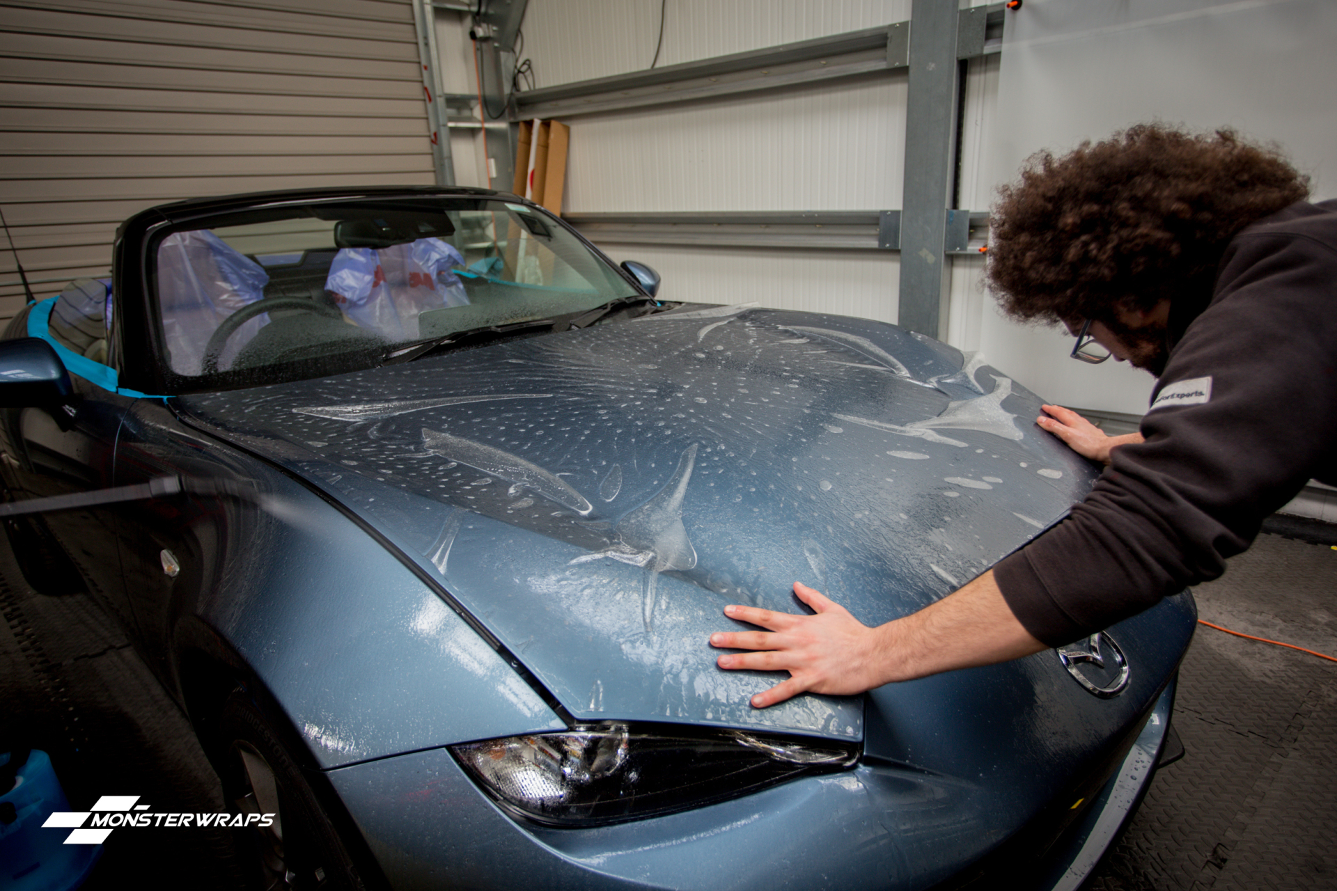 Mazda MX5 self healing clear paint protection wrap