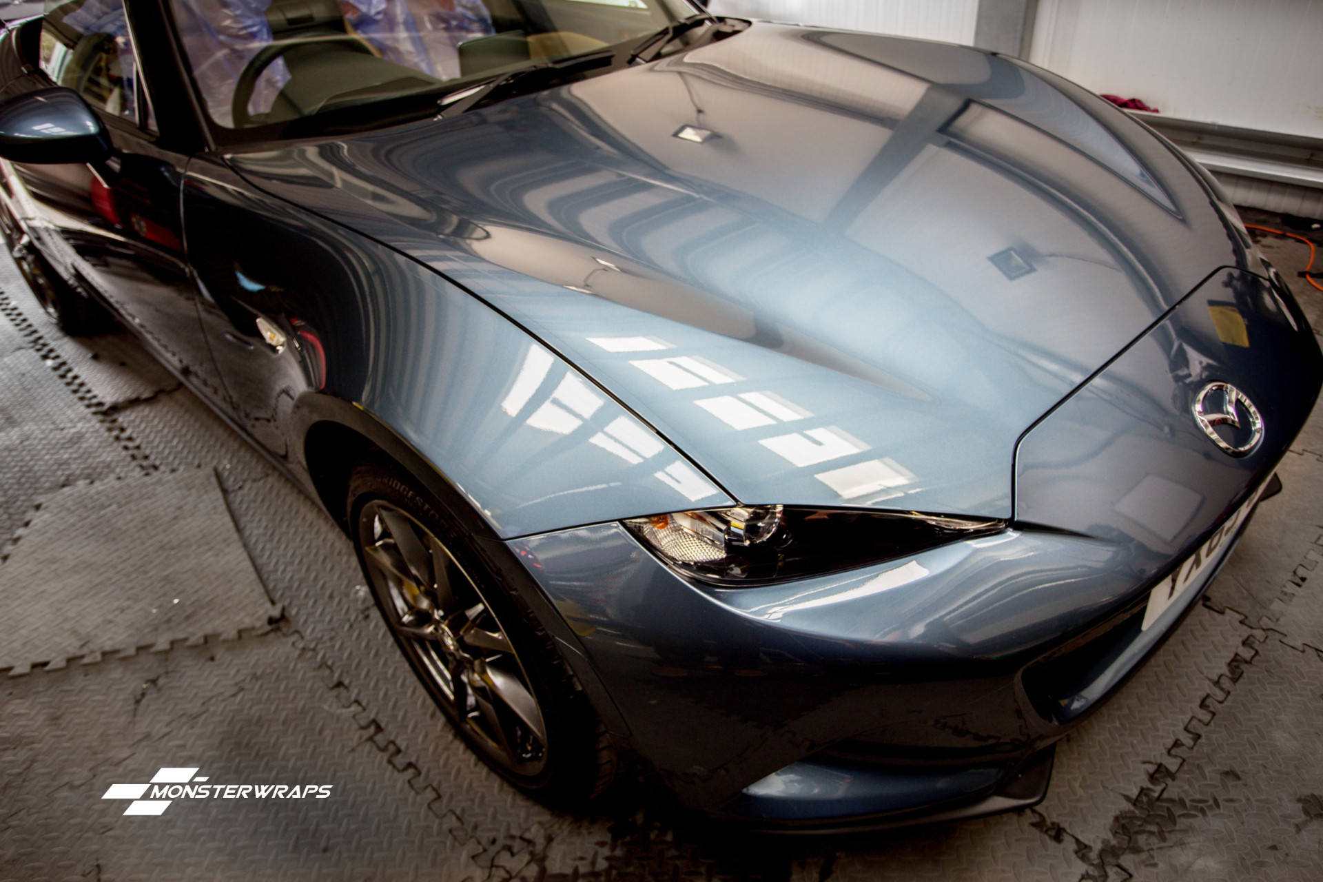 Mazda MX5 ND Clear paint protection wrap