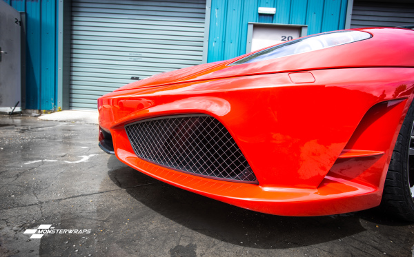 Ferrari F430 Clear Paint Protection wrap