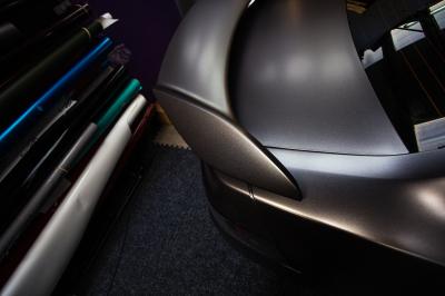 Vauxhall VXR8 Monaro Satin dark grey full wrap