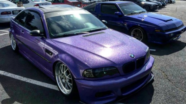 Avery Gloss Purple Diamond metallic