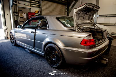 BMW M3 Gloss aluminium silver wrap with ceramic pro 9H treatment