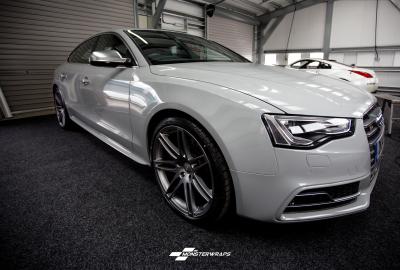 Audi S5 Nardo Grey wrap Southampton