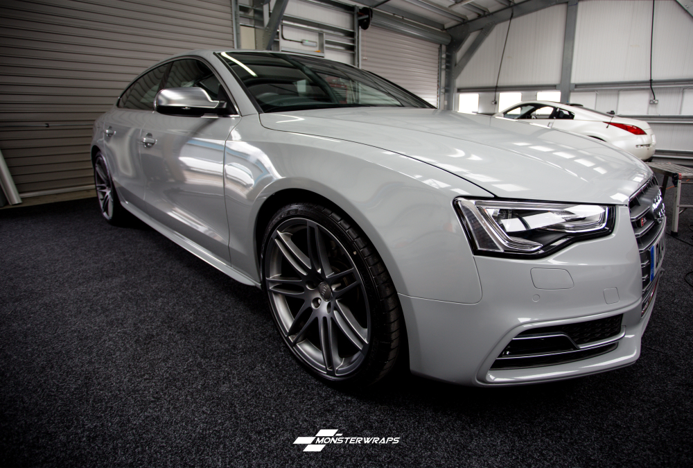 Audi Nardo Grey, available as a wrap!
