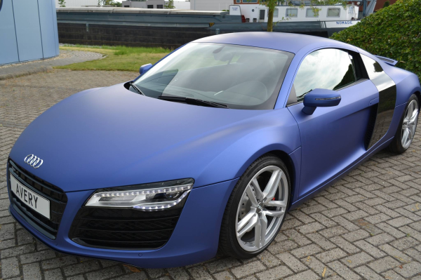 3M Matte blue metallic car wrap colour