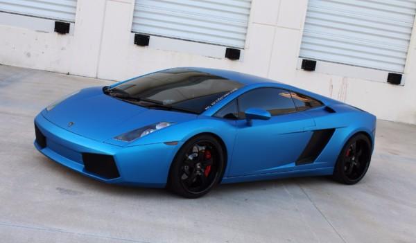 3M Matte blue metallic car wrap colour