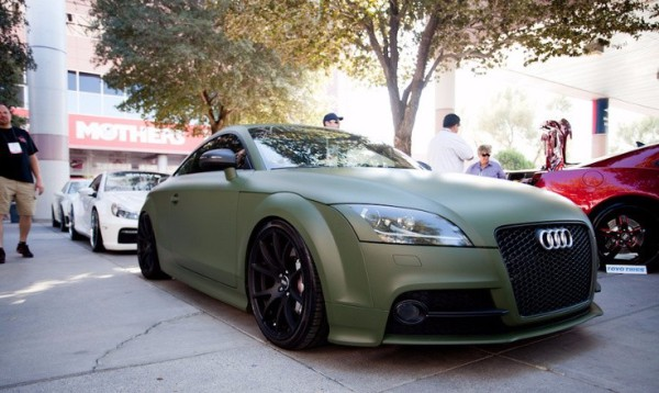 3M Matte military green car wrap colour