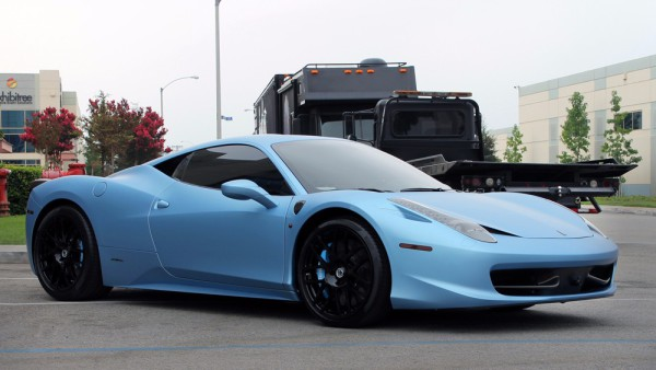 Avery Matte metallic Frosty Blue wrap