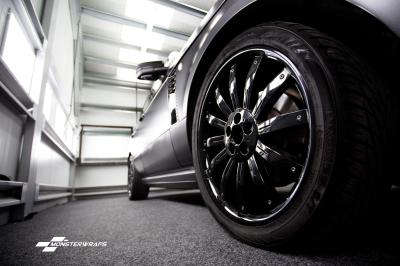 Overfinch Range Rover Vogue satin grey wrap