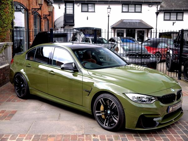 Oracal Gloss bottle green (BMW Urban Green)