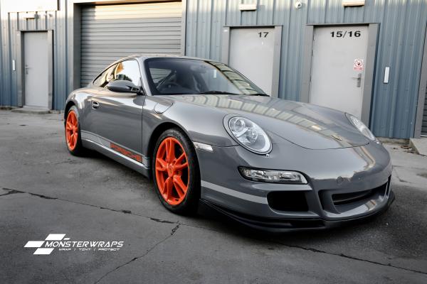 Porsche 911 GT3 Gloss grey wrap & Ceramic PRO