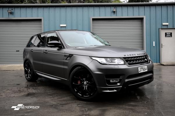 Range Rover Sport Satin Dark Grey Wrap & Ceramic PRO