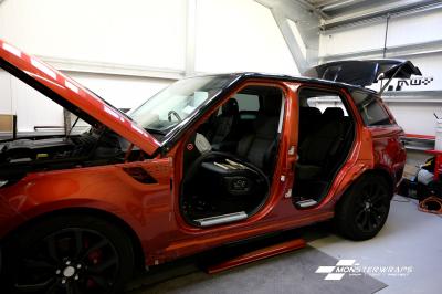 Range Rover Sport Satin Dark Grey & Ceramic PRO