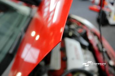 Honda Civic EP3 Dragon Fire Red & Ceramic PRO